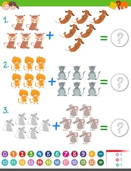 Toevoeging wiskunde-activiteit voor kinderen