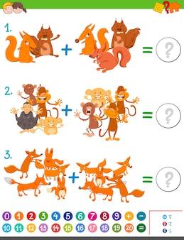 Toevoeging wiskundegame voor kinderen