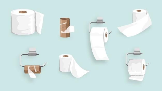 Toiletpapier rolset element element