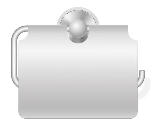 Toiletrolhouder vectorillustratie
