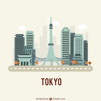 Tokyo gebouwen
