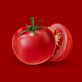 Tomaten geïsoleerd