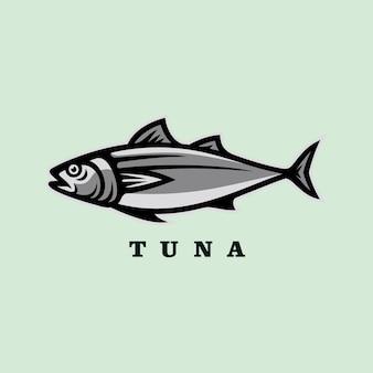Tonijn vis vector illustratie