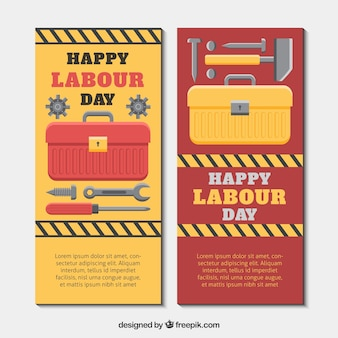 Toolbox banners