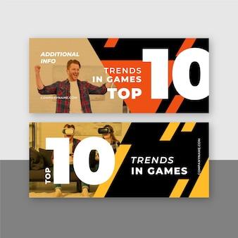 Top 10 beoordelingsbanners