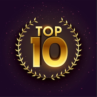 Top 10 beste embleem in gouden kleur