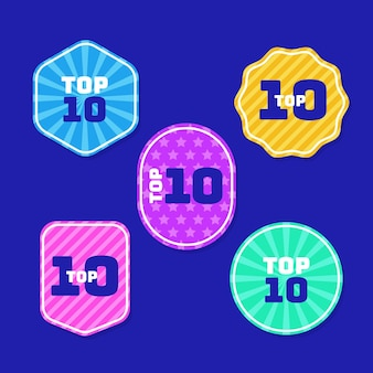Top 10 labels-collectie