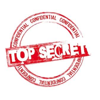 Top geheime stempel