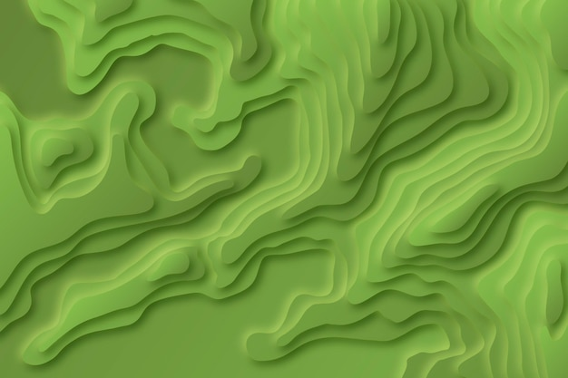 Topografische kaart achtergrond