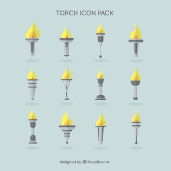 Torch iconen pack