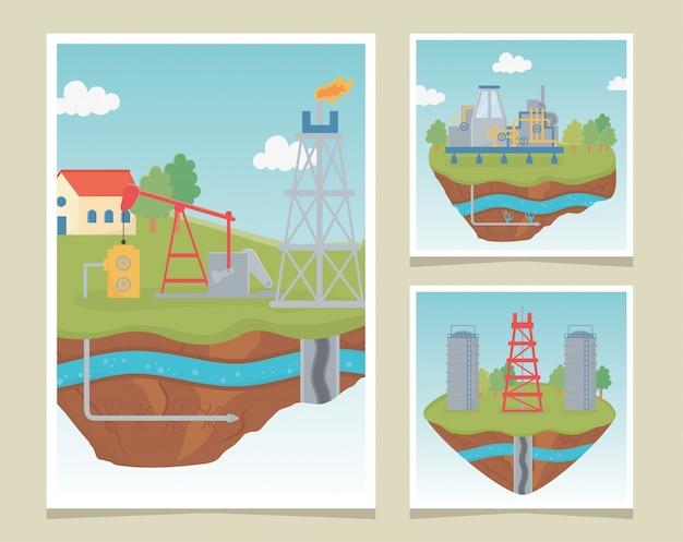 Torenapparatuur procesverkenning fracking