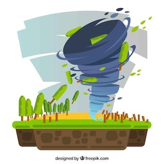 Tornado-ontwerp