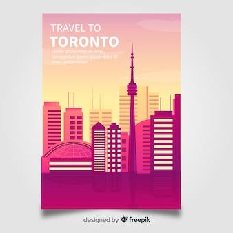 Toronto flyer sjabloon
