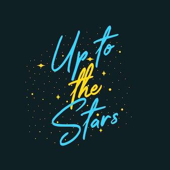 Tot aan de sterren