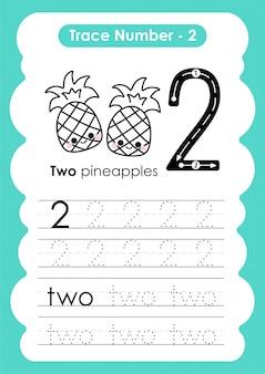 Trace nummer twee - voor kleuters en voorschoolse kinderen