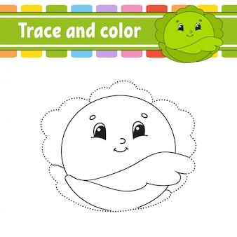Traceer en kleur.