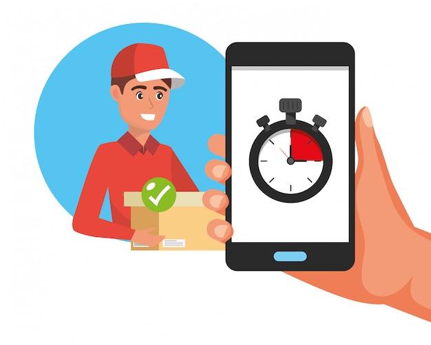 Tracking en levering logistieke medewerker