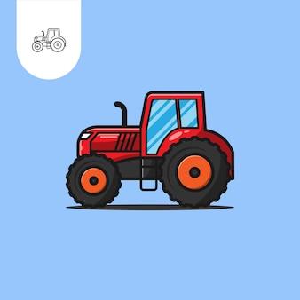 Tractor boerderij