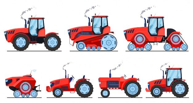 Tractoren ingesteld