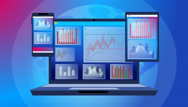 Trader technology software program voor laptop