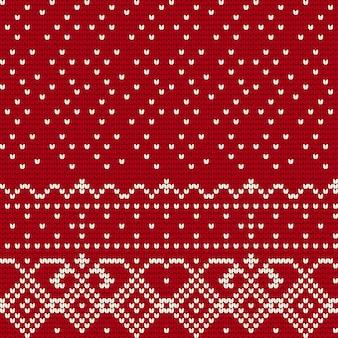 Traditioneel breipatroon voor lelijke trui