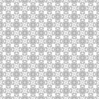 Traditioneel chinees vector naadloos patroon decoratief aziatisch behang oosterse achtergrond
