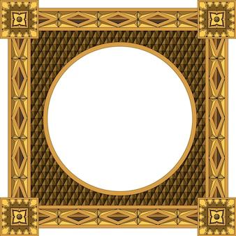 Traditioneel houten frame