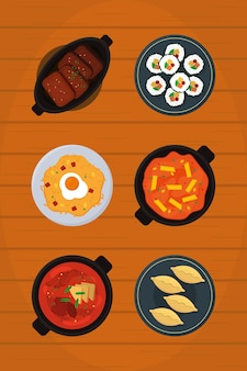 Traditioneel koreaans eten