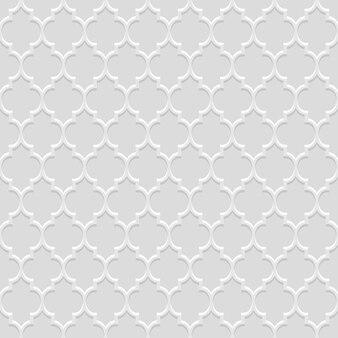 Traditioneel naadloos patroon in arabische stijl
