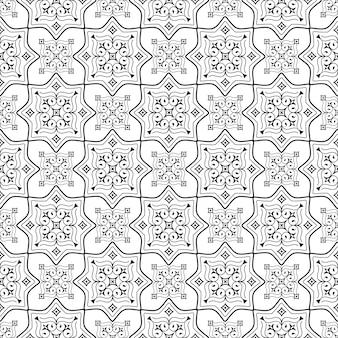 Traditioneel oost-naadloos patroon