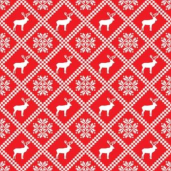 Traditioneel skandinavisch patroon