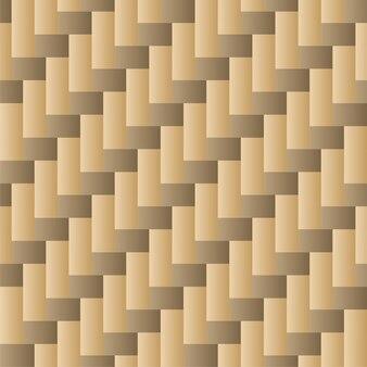 Traditioneel tegel naadloos patroon met gouden kleur
