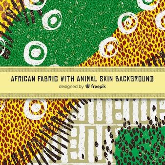 Traditionele afrikaanse stoffen print achtergrond
