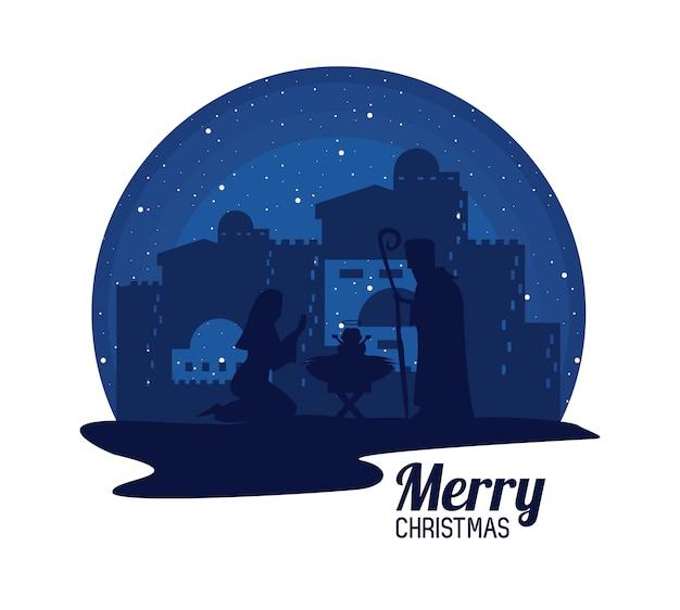 Traditionele christelijke kerst