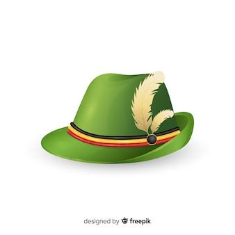 Traditionele duitse hoed