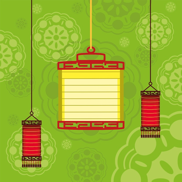 Traditionele lampen chinees