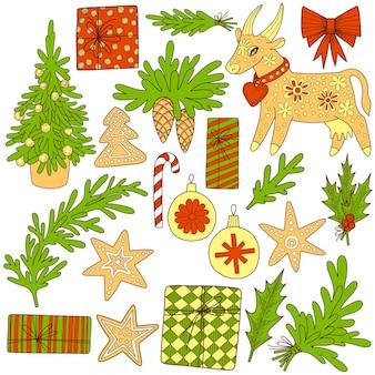 Traditionele symbolen van het nieuwe jaar