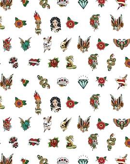 Traditionele tatoeage