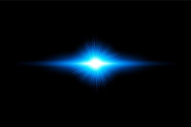 Transparant licht flare effect achtergrondontwerp eps