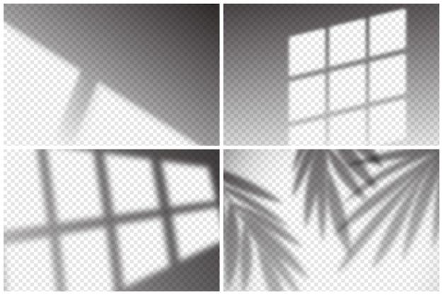 Transparant schaduwen-overlay-effectthema