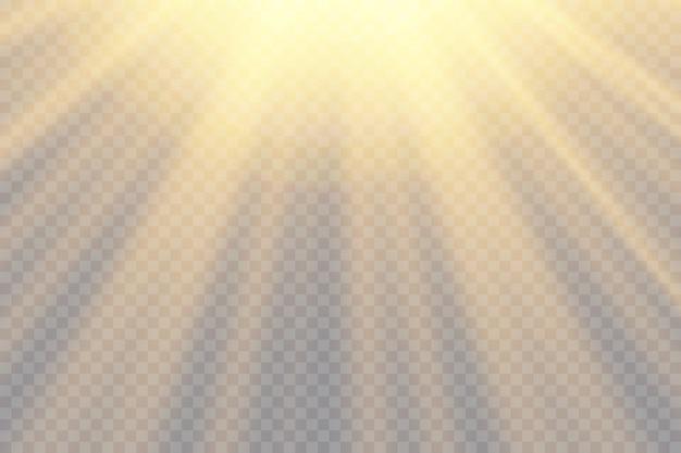 Transparant zonlicht speciaal lensflitslichteffect