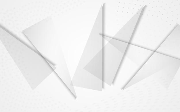 Transparante elementen moderne vector grijze achtergrond. zakelijke lay-out. lichte dynamische vormen poster. technologie dekking.