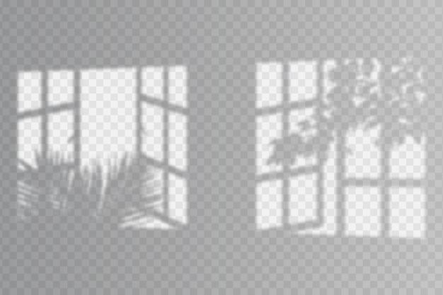 Transparante schaduwen overlay-effectstijl