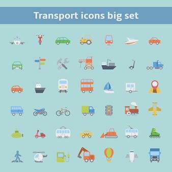 Transport pictogrammen instellen