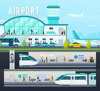 Transport Terminal composities