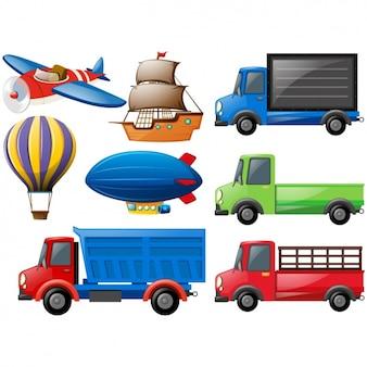 Transport voertuigen collectie