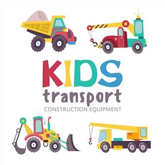 Transportcollectie voor kinderen