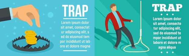 Trap banner set