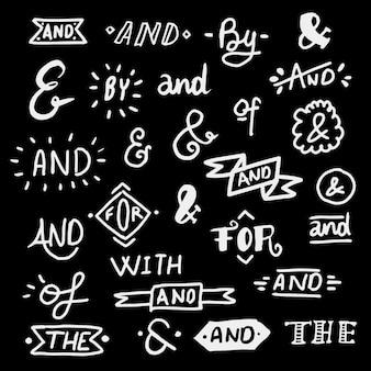 Trefwoord en ampersandverzameling