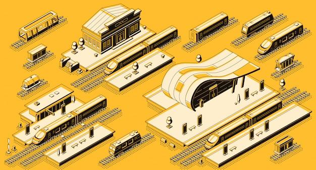 Treinstation gebouwen